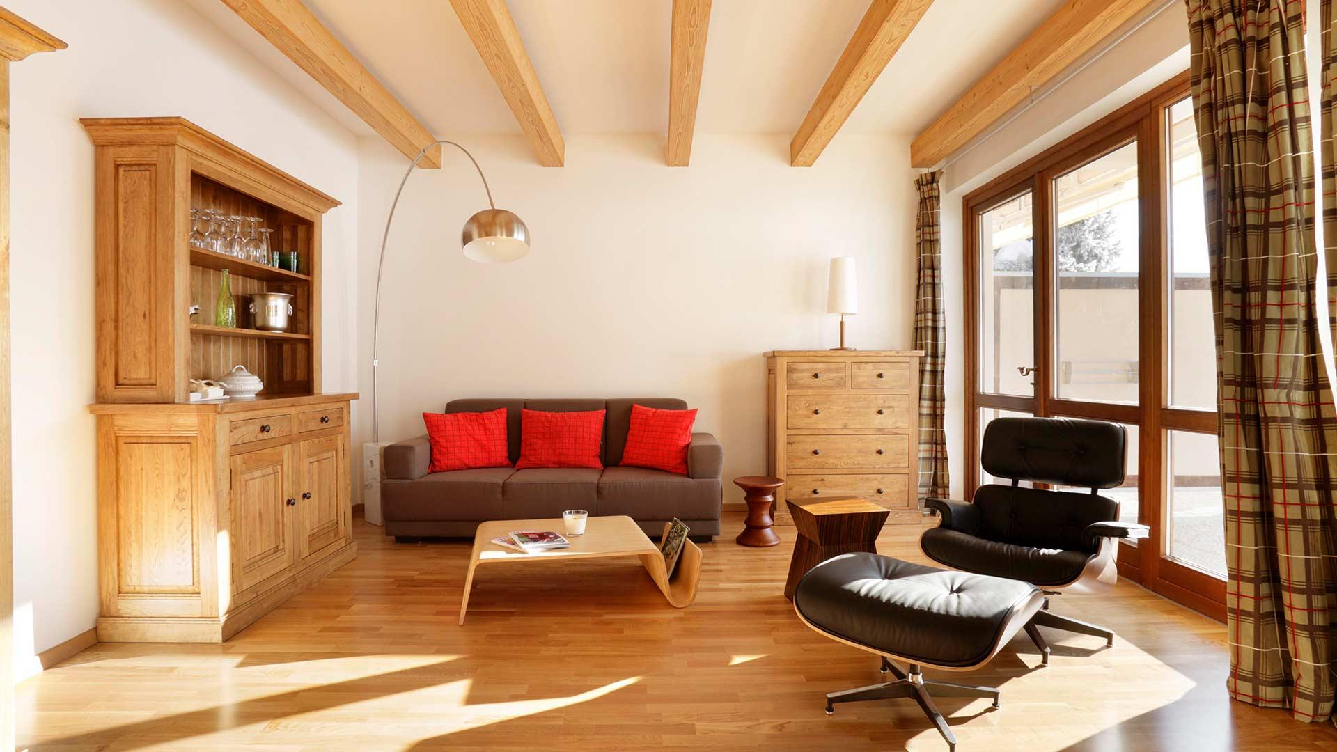 Appartement 2 - Wohmzimmer 1