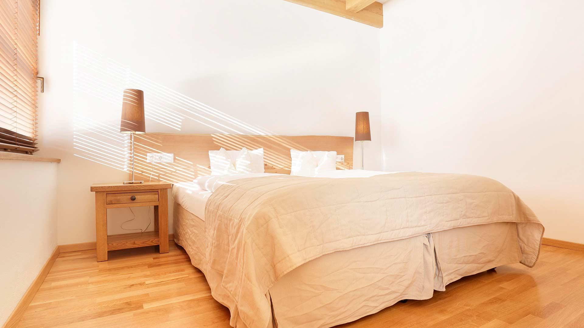 Appartement 2 - Schlafzimmer 1