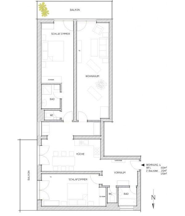 Appartement-4-Grundriss