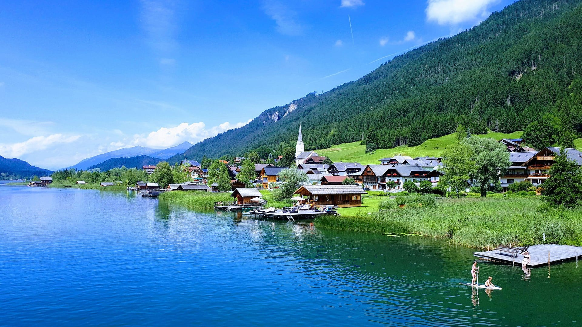 Appartements Seeland - direkt am Weissensee