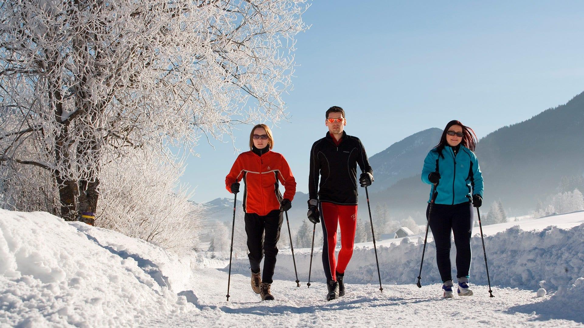 Wandern-Winter